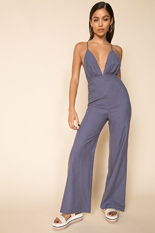 Tasha Open Back Jumpsuit