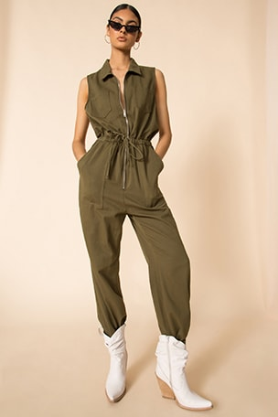 Elisa Sleeveless Jumpsuit