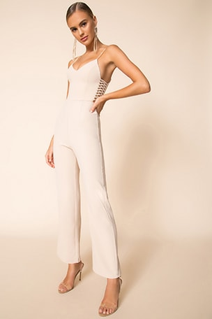 Jaylene Strappy Side Jumpsuit