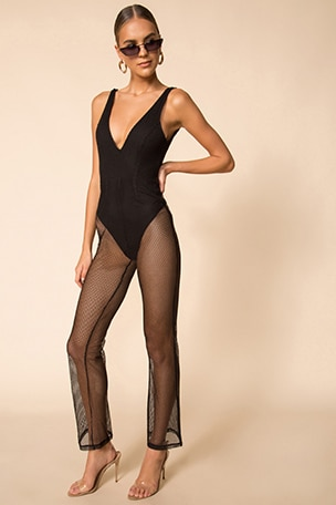Elina Sheer Jumpsuit