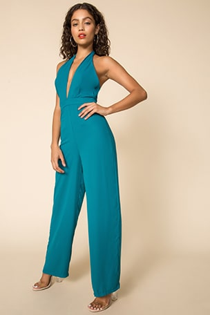 Kelly Halter Jumpsuit