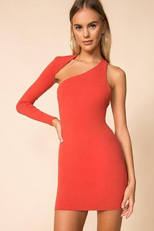 Gigi One Shoulder Dress