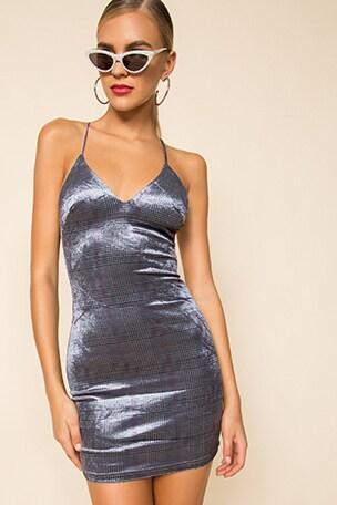 Parker Velvet Mini Dress