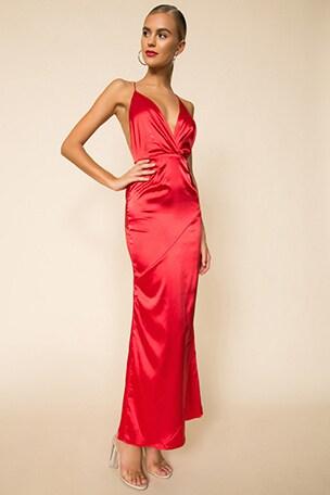 Gwynne Bias Cut Dress