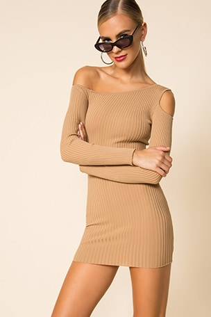Helene One Shoulder Dress