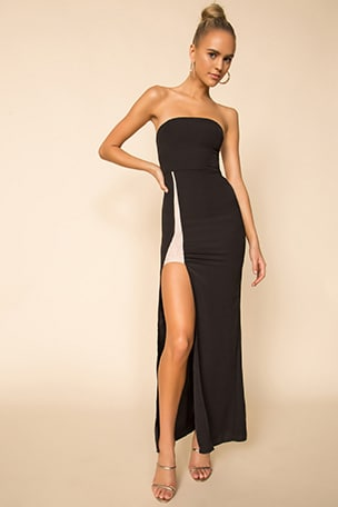 Shellie Strapless Gown