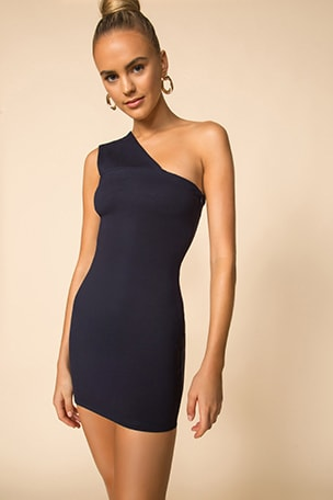 Rockie One Shoulder Dress