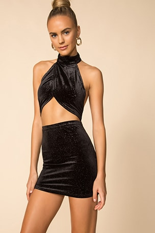 Shawna Mini Skirt Set