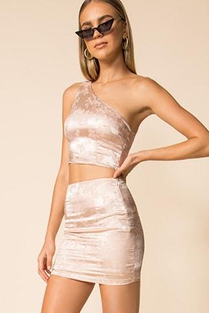 Athena Mini Skirt Set