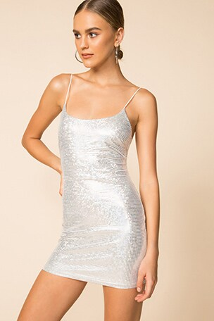 Beckie Sparkle Mini Dress