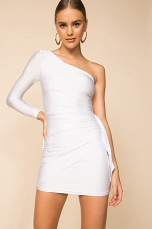 Alisa One Shoulder Dress