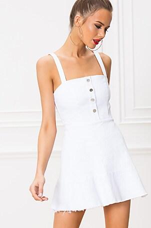 Carmen Denim Button Up Dress