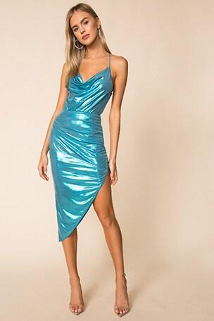 Florence Drape Front Dress