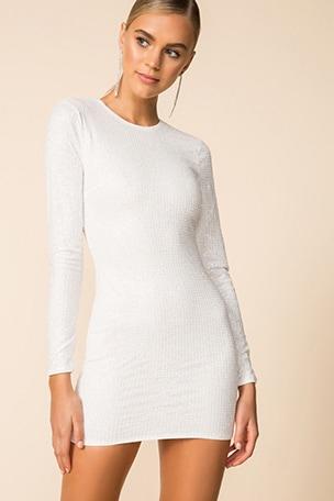 Evie Sparkle Mini Dress
