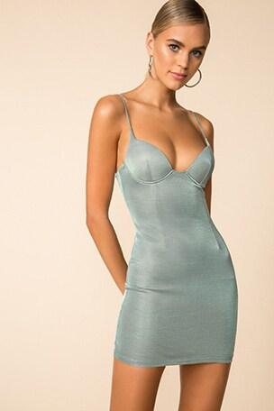 Miranda Bustier Mini Dress