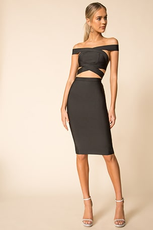 Declan Midi Skirt Set