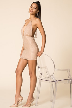x Draya Michele Torrance Mini Dress