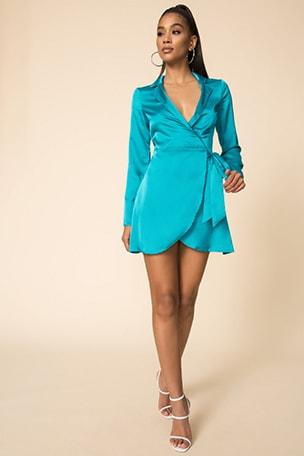 Malory Wrap Dress