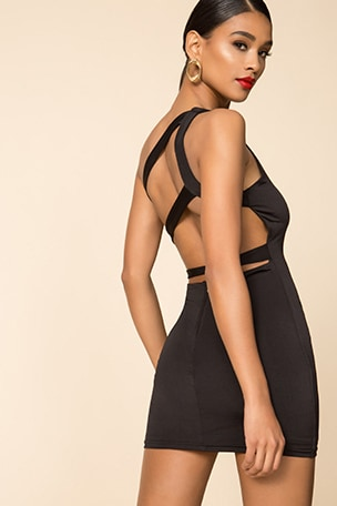 Davey Strappy Back Dress