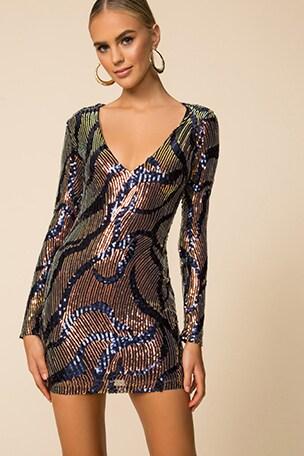 Rhonda Long Sleeve Dress