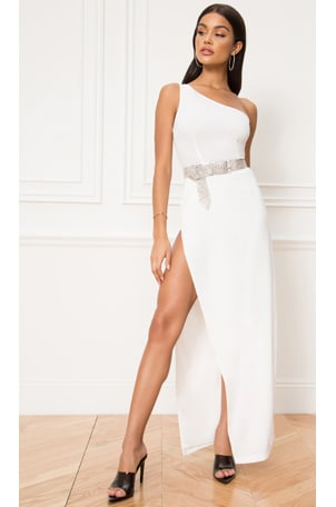 Karlee One Shoulder Maxi