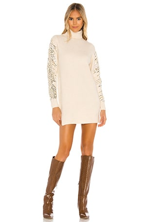 Rudie Sparkle Sleeve Dress