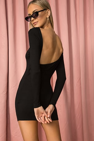 Danica Drape Back Dress