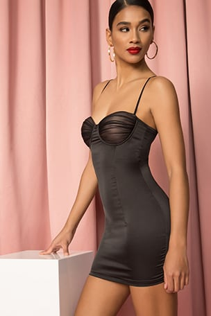 Eileen Underwire Mini Dress