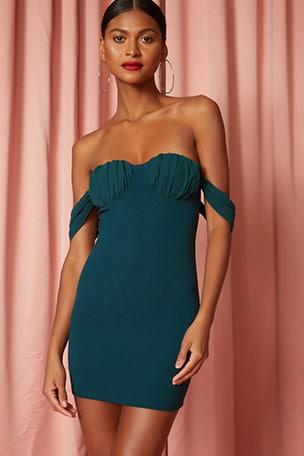 Cailyn Off Shoulder Dress