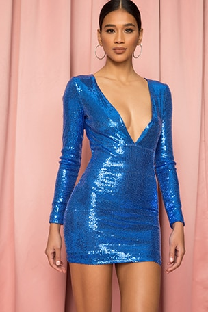 Tayler Sequin Dress