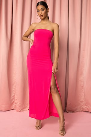 Asher Strapless Dress