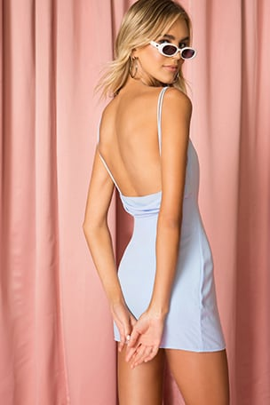 Bonita Drape Back Dress