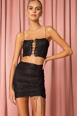 Adele Lace Skirt Set