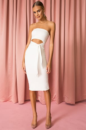 Sheyla Tube Midi Dress