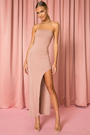 Toni Slit Maxi Dress