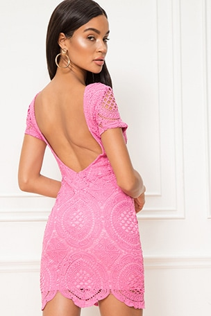 Vita Open Back Dress