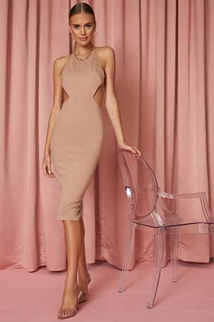 Zayne Midi Dress