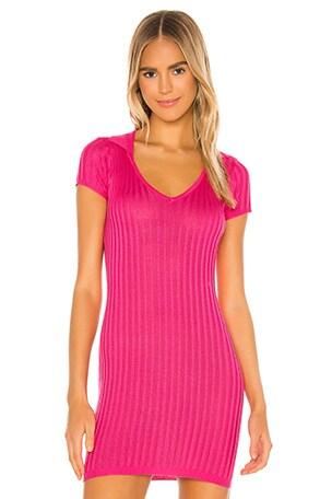 Mariella Ribbed Mini Dress