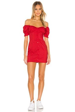 Gabbie Button Front Dress