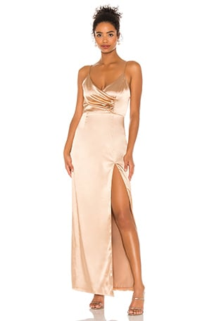 Adrena Slit Maxi Dress
