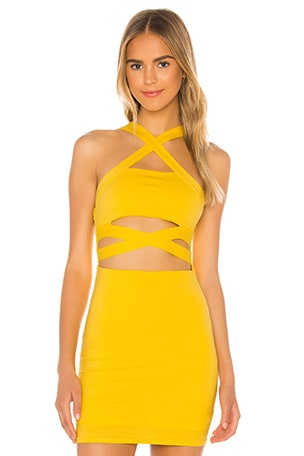 Elva Halter Mini Dress
