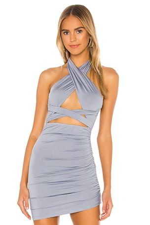Suzette Halter Mini Dress