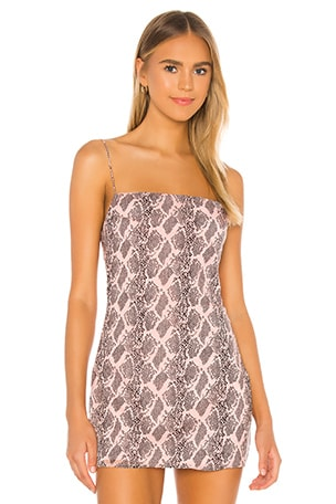 Becca Square Neck Dress