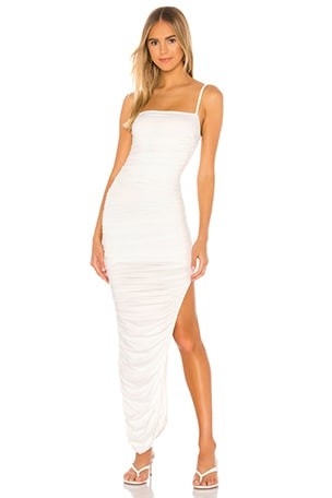 Milani Ruched Maxi Dress