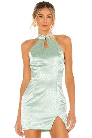 Delaney Mock Neck Dress