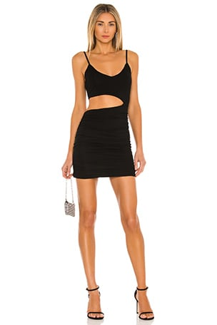 Darcey Ruched Mini Dress