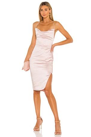 Billie Drape Midi Dress
