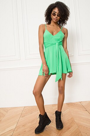 Alessandra Tie Back Dress