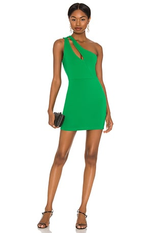 Nava Asymmetrical Mini Dress