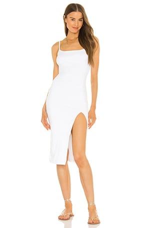 Candace Slit Midi Dress